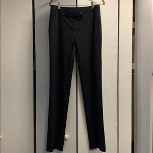 Valentino tuxedo trouser with grosgrain detail